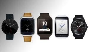 smartwatch modellen