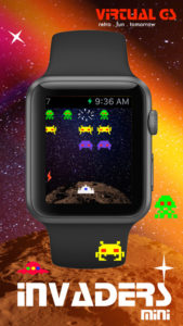 Invaders Apple Watch