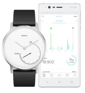 Nokia Steel met Smartphone app