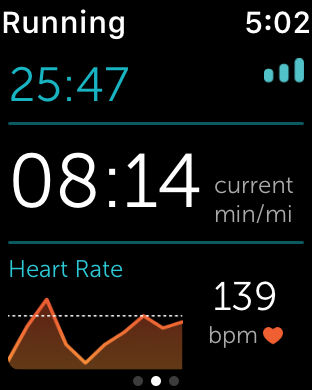 RunKeeper Apple Watch