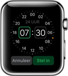 Wekker Apple Watch