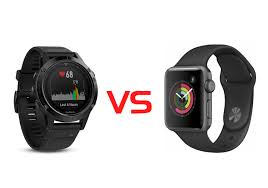 Apple Watch 3 vs Garmin Fenix 5