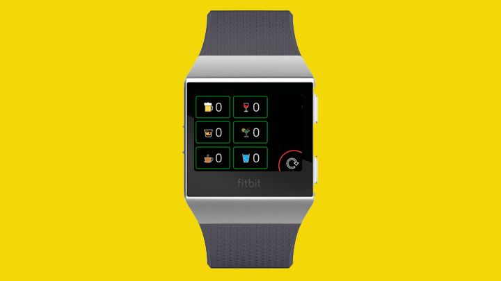 Drink Counter Fitbit Ionic