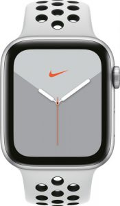 Apple Watch 5 Nike Series zilver