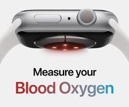 Apple Watch 6 zuurstofgehalte meten