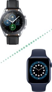 Galaxy Watch 3 vs Apple Watch 6