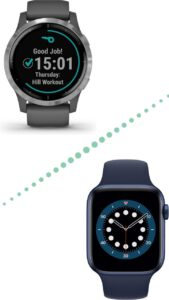 Garmin Vivoactive 4 vs Apple Watch 6