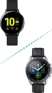 Samsung Galaxy Watch 3 vs Active 2